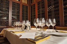Private functions and events in the Wine Room at One Eleven Chop House